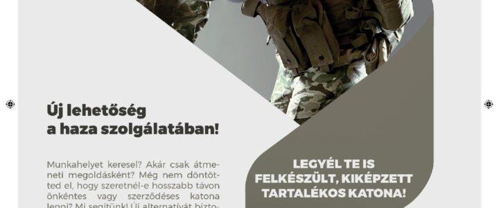 Magyar Honvédség ajánlata